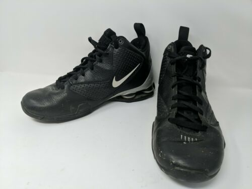 NIKE Mens Shox BB Pro TB Basketball Sneakers Shoes Mens Size 10 407628-001 VTG