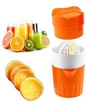 Hand Juicer Citrus Orange Squeezer Manual Lid Rotation Press Reamer for ... - $10.53
