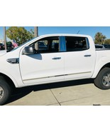 2019-2020 Ford Ranger Crew Cab 4Pc Body Side Molding Trim Stainless Stee... - $93.99