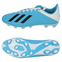 Adidas X 19.4 FxG Football Shoes Soccer Cleats Boots Blue/White/Black F3... - $69.99