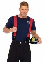 Leg Avenue 3 Piece Fire Captain Black/Red X-large - $61.99