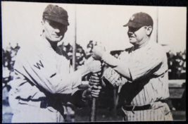 Babe Ruth-N.Y. Yankees & Walter Johnson-Washington Senators- Post 1963 p... - $11.75