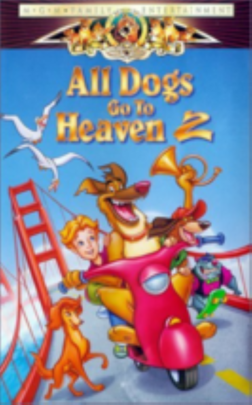 All Dogs Go to Heaven 2 Vhs