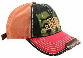 True Religion Men's Premium Cotton Vintage Distressed Trucker Hat Cap TR1690 image 5