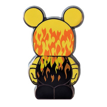 Vinylmation Jr. Disney Lapel Pin: Flames - $12.90