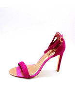 Ted Baker Womans Skarlos Ankle Strap Hot Pink High Heels Open Toe  Sz 10 M - $89.09