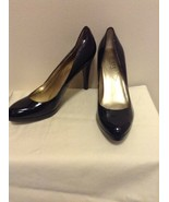 GUESS By Marciano Black Patent Leather Size 9.5M Platform Pumps   - $22.95
