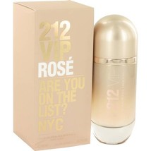 212 Vip Rose Perfume  By Carolina Herrera for Women 2.7 oz Eau De Parfum  - $87.90