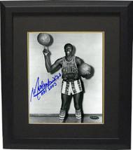Meadowlark Lemon signed Harlem Globetotters Vintage B&W 8x10 Photo Custo... - £87.82 GBP