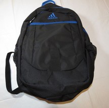 Adidas Foundation III Backpack 5143132 black blue bookbag book bag back ... - $45.83 CAD
