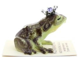Hagen-Renaker Miniature Frog Prince Kissing Birthstone 06 June Alexandrite image 2