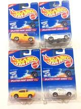 1995 Hot Wheels Splatter Paint Series Complete Set 1:64 Scale Die Cast - $4.85