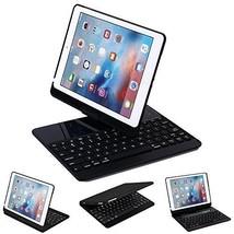 MOSTOP iPad 9.7 Keyboard Backlit Case Bluetooth Keyboard 7 Colors Rotati... - $28.89