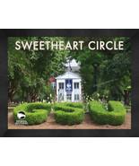 "Georgia Southern ""Sweetheart Circle"" 13x16 Art Deco Framed Print  - $39.95"