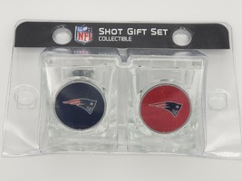 Great American Products NFL New England Patriots 2 Piece Square 2 oz. Shot Glass - $16.82