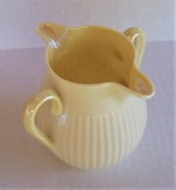 Vintage Belleek  Double Spout Left or Right Handed Ribbed Creamer /Syrup... - $21.78