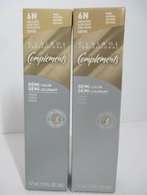 Clairol Professional Complements DEMI Color Cream 6N Dark Blonde (2 Pack) - $19.99