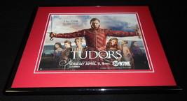 The Tudors 2010 Showtime Framed 11x14 ORIGINAL Advertisement J Rhys Meyers - $32.36