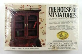 Vintage House Of Miniatures Closed Cabinet Top #40001 New Sealed - $7.95