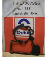 Air Horn Gasket Carburetor NOS ACDelco 17067966 OEM GM - $5.75