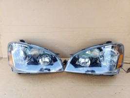 05-06 Nissan Altima 3.5 SE-R  Xenon Headlight Head Light Lamps Set L&R image 1