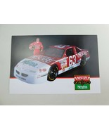 Chuck Brown 6x9 Racing Picture Info Card Promo Advertising - $9.79