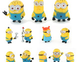Toy Set 12Pcs/Set Despicable Me 2 Minion In Action Figures Minions