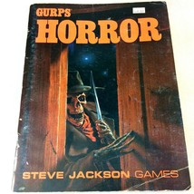 GURPS RPG HORROR Occult Battles Haring 1987 1st Ed Steve Jackson Games R... - $18.80