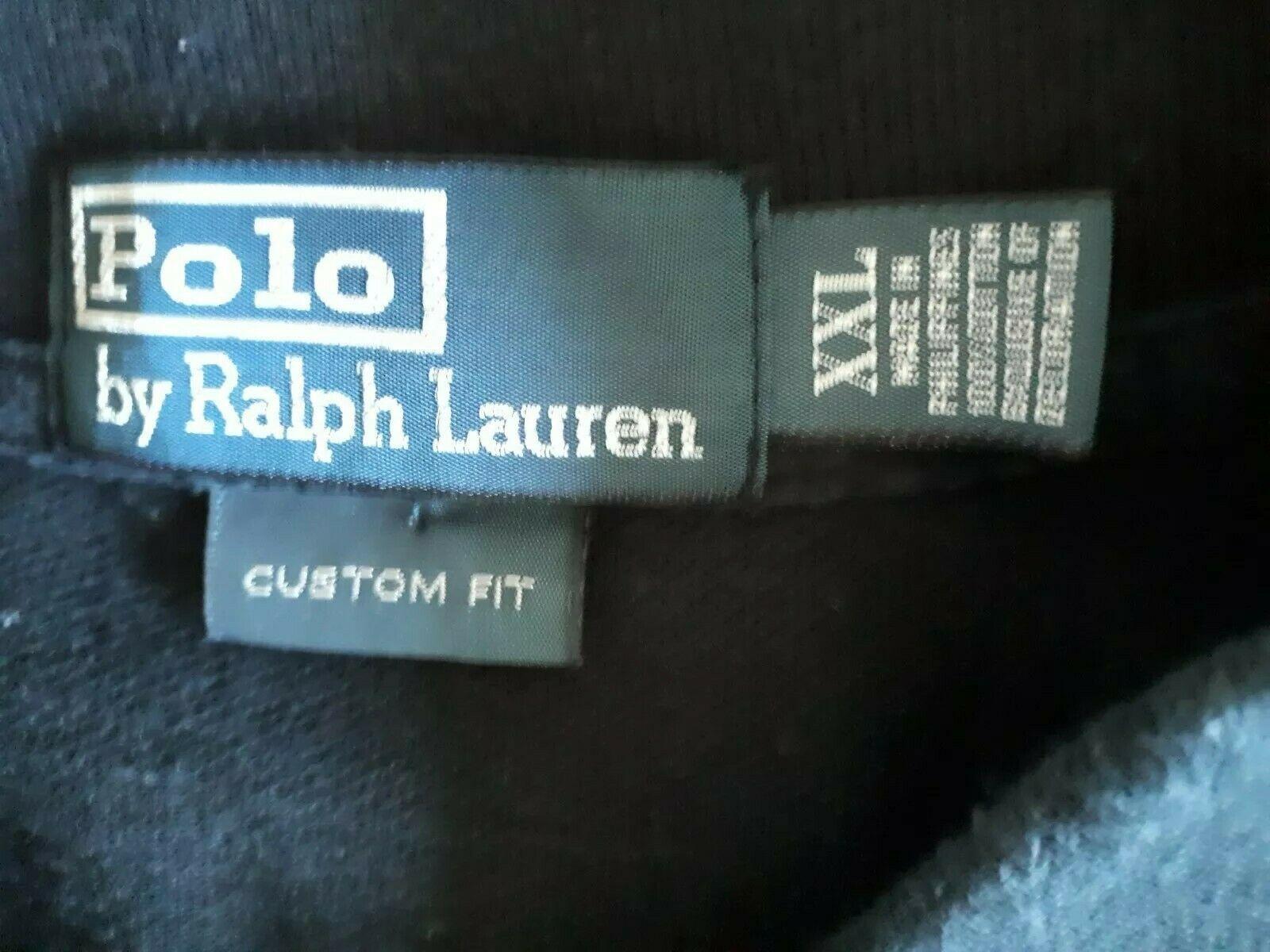 Pair of RALPH LAUREN Men's Cotton BIG PONY Logo Rider #3 s/s POLO Shirt 2XL