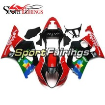 Red Green Fairings for Suzuki GSXR1000 2003 2004 Bodywork ABS Plastic In... - $339.57