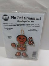 MMI Pin Pen Pal Ornament Gingerbread Boy 5614 - $11.75