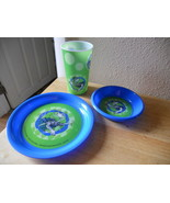 DR SUESS CHILDRENS DINING SET SET OF 3 yertle turtle tertle NEW - $8.68