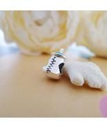 Lovely Silver Baby Feeding bottle Baby Feeder Beads Fit for European Sna... - $22.41