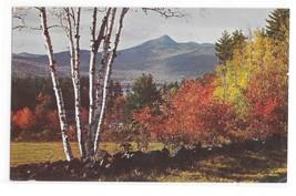 NH Mt Chocorua Winston Pote Autumn Landscape New Hampshire Vintage Postcard - $4.99