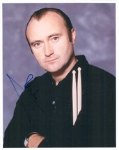 Phil Collins Signed Autographed Glossy 8x10 Photo - $59.99