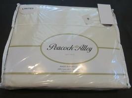 Peacock Alley 4P 600TC Sateen Ivory Queen Sheet Set $800 - $218.20