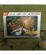 Family Computer TECMO 03 Super Star Force Vintage Action PRG Nintendo Ga... - $52.76