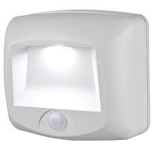 Wireless Outdoor Lighting Motion Light Sensing Step White Deck Shed Mr B... - $10.85