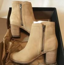 Frye Addie Double Zip Booties Sand New 8.5M - $140.25
