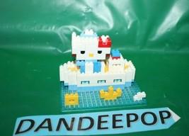Hello Kitty Lego Nanoblock Building Toy Figurine Set Sea Cruise - $24.74
