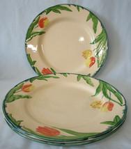 Franciscan Tulip England Dinner Plate Set of 3 - $50.38