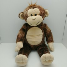 "Build A Bear Brown And Tan Monkey 18"" Plush Stuffed Animal - $14.85"