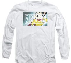 Mighty Mouse superhero Retro Saturday cartoon classics long sleeve tee CBS1589 image 2