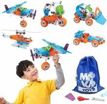STEM Toys for Kids, 5-in-1 Building Project Set image 4