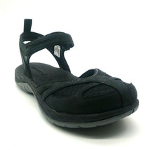 Merrell Woman Siren Wrap Q2 Closed Toe Ankle Strap Sandal Black Cushion ... - $49.49