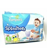 Pampers Splashers Disposable Swim Diapers for Boys and Girls, 20-Count Size S - $15.83