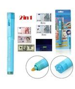 Currency Money Note Checker Counterfeit Marker Billetes Falsos UV Pen De... - $4.64