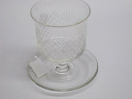 Cut Glass cigeratte holder antique - $17.77