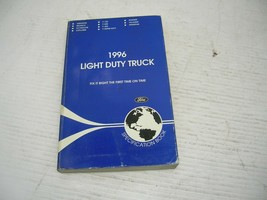 Original 1996 Ford Light Duty Truck Service Specifications Book / Manual - $12.86