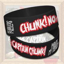 CHUNCK! NO, CAPTAIN CHUNCK! (PARDON MY FRENCH) WRISTBAND - $4.00